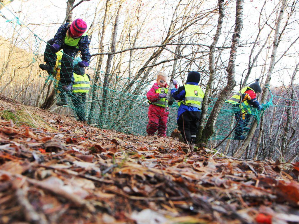 Naturen som leke- og læringsarena